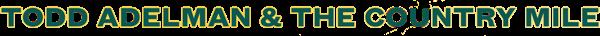 Todd Adelman Logo